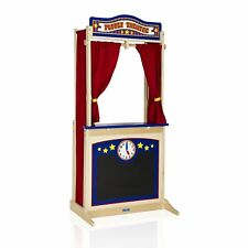 Guidecraft G51072 Wooden Non-Tip Base Floor Theater For Kids Ages 2 Years And Up