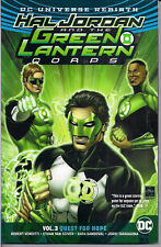 Dc Universe Rebirth Hal Jordan & Green Lantern Corps Vol 3 - Quest for Hope - Sc