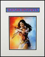 "Gla Gadot ""Wonder Woman"" Original Autographed Photograph"