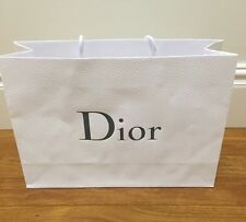 ^Authentic DIOR Large paper shopping bag ~ FASHION BLOGGER Luxury