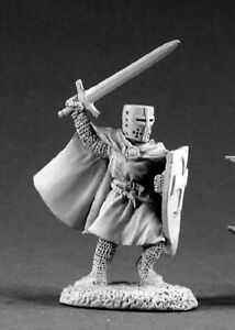 Reaper Miniatures Knight Templar #02119 Dark Heaven Legends Unpainted Metal