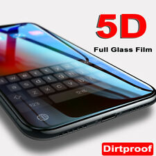 For Apple iPhone X 5D Full Tempered Glass Curved Dust-Free Screen Protector Film