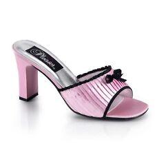 Damen-Sandalen & -Badeschuhe im Knöchel-/Fesselriemen-Stil ohne Muster für Hoher Absatz (5-8 cm) und Freizeit