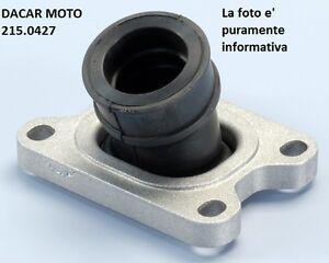 215.0427 Manifold Carburettor D21 360 Degrees POLINI beta RR 50 Sm AM6 2002-2004