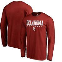 Oklahoma Sooners Fanatics Branded True Sport Softball Long Sleeve T-Shirt -