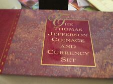 1993 THOMAS JEFFERSON COINAGE & CURRENCY SET WITH $2 NOTE    3374