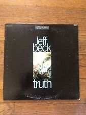 Jeff Beck Truth Epic Bn 26413 Original Vinyl Record Lp Blues Rock Vg+