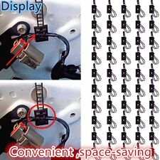 50×3M Auto Self-Adhesive Adjustable Clips Fastens Fixed Organizer For Fastens