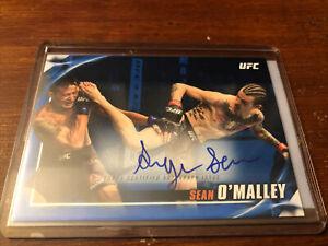 Sean O'Malley 2019 Topps UFC Knockout Auto Autograph 31/50