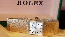 Rolex Lady's.Solid 14k, Gold Bracelet Watch. 17j Overhauled 60 day Warr. Ca.1971