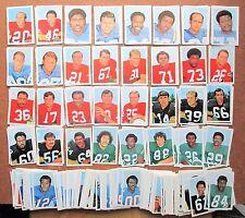 1971 NFLPA Wonderful World Stamps Singles YOU PICK PLAYERS Vikings Steelers etc