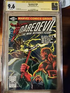 Daredevil 168 CGC 9.6 SIGNED by Frank Miller  First Appearance Elecktra/Elektra