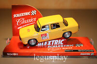 Slot SCX Scalextric 6380 Ranult 8 TS Yellow - New