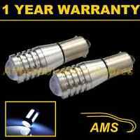 2X BA9s T4W 233 CANBUS ERROR FREE XENON WHITE CREE LED SIDELIGHT BULBS SL102202