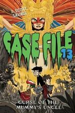 Case File 13 #4: Curse of the Mummy's Uncle (Hardback or Cased Book)