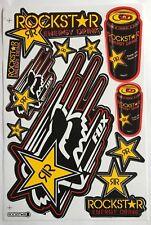 11 Rockstar Energy Drink Stickers Racing Bike MTB Motocross Helmet BMX Quad
