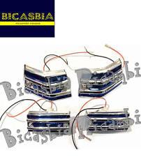 8995 - FRECCE COMPLETE CON GRIGLIA BLU VESPA 125 150 200 PX - ARCOBALENO