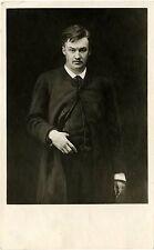 IMPERIAL RUSSIA, COMPOSER ALEXANDER GLAZUNOV & ORIGINAL 1910's  POSTCARD