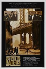 """ONCE UPON A TIME IN AMERICA Silk Fabric Movie Poster 24""""x36"""" Robert De Niro"""