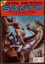 enmascarado de plata art cover of Santo Rock climbing comic book Yr 2 # 75