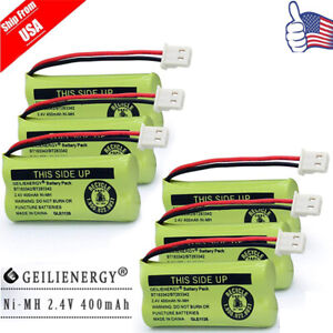 6X Cordless  Phone Batteries Pack for AT&T BT183342 BT266342 TL32100 TL90070 USA