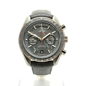 "Omega Speedmaster Moonwatch Co-Axial ""Meteorite"" 18K Sedna Gold & Ceramic"