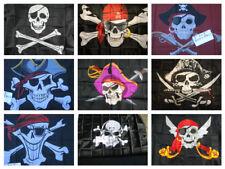 Flag 3x5' Pirate Jolly Roger buccaneers corsairs privateers Brotherhood Boats
