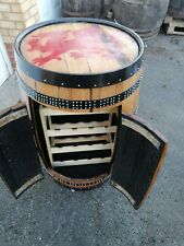 Whisky Barrel Drinks Cabinet Oak Barrel Bar Handmade MAN CAVE OPTIONS AVAILABLE