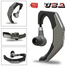 Hands-free Bluetooth Headset Earphone Sport Earpiece for Samsung S20 S10 S9 S8 +
