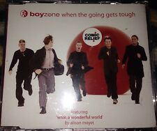 Boyzone When The Going Gets Tough / What A Wonderfull World CD Single