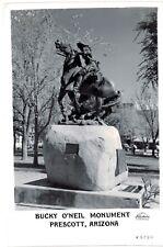 Postcard AZ Prescott Bucky O'Neil Momument
