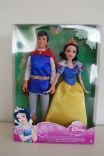 DISNEY PRINCESS SNOW WHITE & PRINCE DOLL T1282 MATTEL 2011 NEW IN BOX