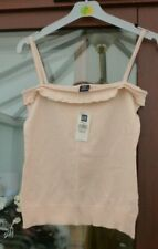 NEW LADIES GAP STRAPPY SUN TOP BABY PINK SIZE XS