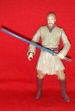 Star Wars Obi Wan Kenobi Jedi Master 2005 ROTS figure loose 100% Complete