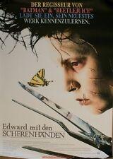 EDWARD AUX MAINS D'ARGENT Affiche Cinéma ORIGINALE / DEUTSCH Movie Poster 84x60