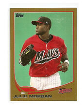 JULIO MORBAN GOLD 2013 Topps Debut #97 RARE #'D 16/50  MINT CARD!