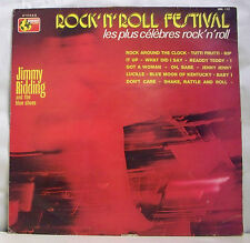 """33T Jimmy RIDDING And The BLUE SHOES LP 12"""" ROCK ' N' ROLL FESTIVAL -MONDIO 112"""