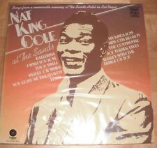 Nat King Cole At The Sands LP