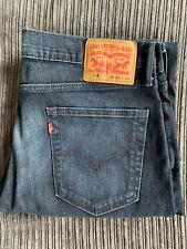 Mens Levis 514 (Size 33 x 34 ) Regular Fit Straight Leg Jeans