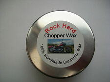 ROCK HARD Chopper Wax 50ml  Polish / Detailing 100% Handmade Carnauba