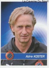 054 ADRIE KOSTER NETHERLANDS CLUB BRUGGE.KV STICKER FOOTBALL 2012 PANINI
