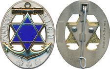 R.I.C.M, ovale ajouré, étoile bleu foncé, (centenaire) matriculé, Pichard Balme