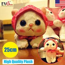25cm Choo Choo Cat Plush Doll Soft Stuffed Animal Doll Cuddly Teddy 2017 Cute