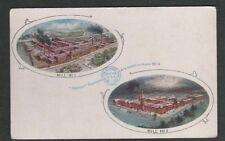 Vintage USA Postcard, Boston Rubber Shoe Co. Mills No.1 and No.2