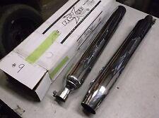 Harley Davidson 65554-95 2-Piece Set Muffler Road King Chrome Exhaust Pair