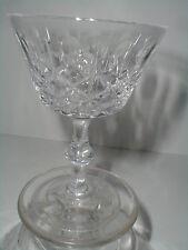 Royal Brierley Crystal Diamond & Thumbprint REGENT Liquor Cocktail Goblet (gar)