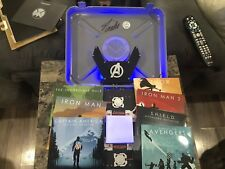 Marvel Avengers Gift Set Blu Ray Phase 1 One Stan Lee Signed Autograph