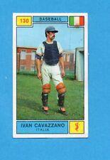 CAMPIONI SPORT 1969-70-PANINI-Figurina n.130- CAVAZZANO -ITALIA-BASEBALL-Rec
