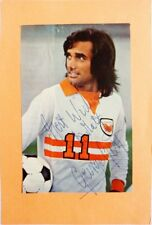 Autograph of George Best - hand signed magazine photo - Ballon d'Or winner 1968