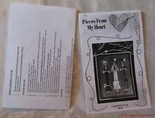 GARDEN CLUB APPLIQUE PATTERN ~ PIECES FROM MY HEART~ DESIGNED BY SANDY GERVAIS